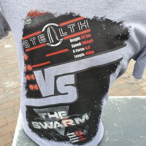 Stealth vs The Swarm T-Shirt