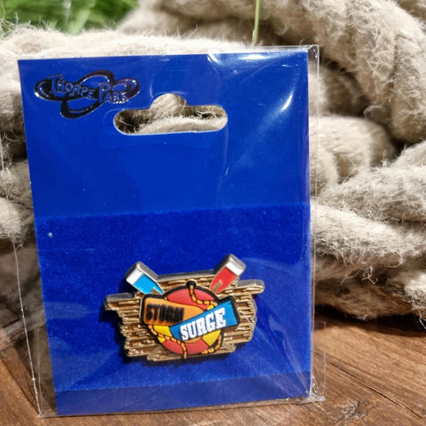Storm Surge Entrance Pin Badge