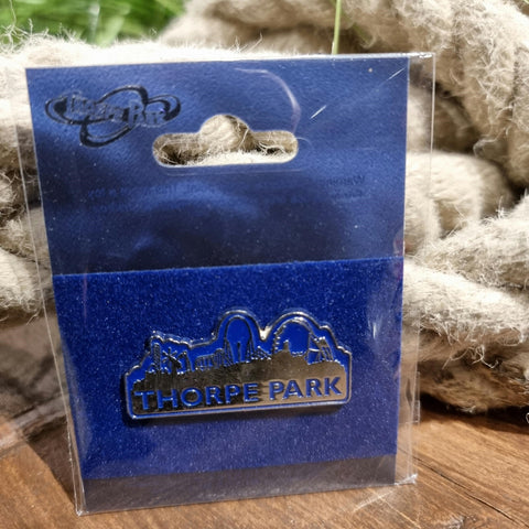 Thorpe Park Skyline Pin Badge