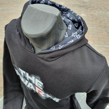 Load image into Gallery viewer, The Swarm Black Logo Hoody