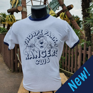Thorpe Park Rangers Club T-Shirt (Navy)