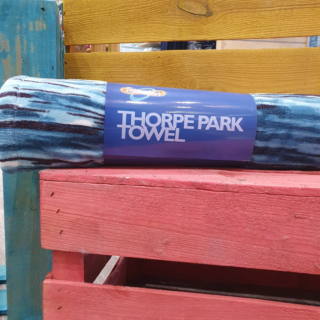 Thorpe Park Beach Towel
