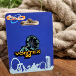 Vortex 20th Birthday Pin Badge