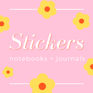 NOTEBOOKS & STICKERS
