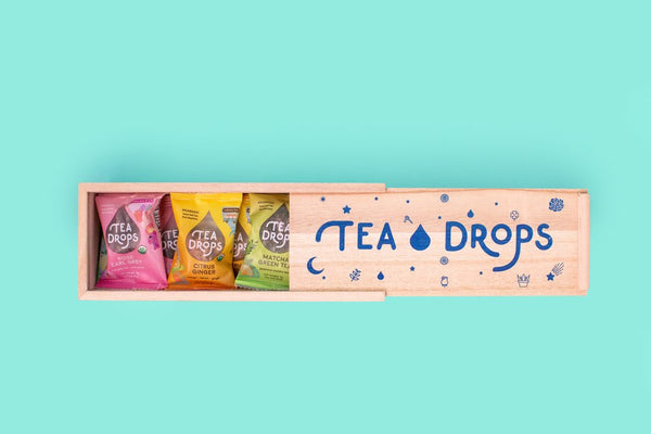 Deluxe Tea Drops Wood Box Set
