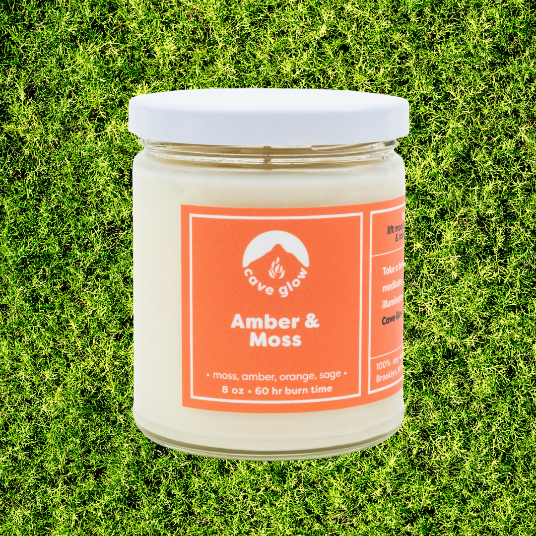 Amber + Moss Candle - 8oz