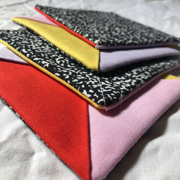 Folded Fabric Coaster Set
