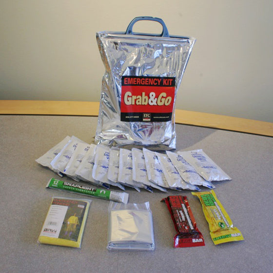 1 Person / 3 Day Grab & Go Survival Kit