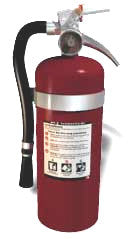Fire Extinguisher 3A Reconditioned   #657-4