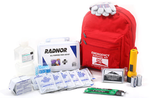 Critical supplies for the first 72 hours after a disaster or emergency