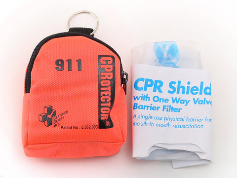 CPR Protector in Pouch   #519-2