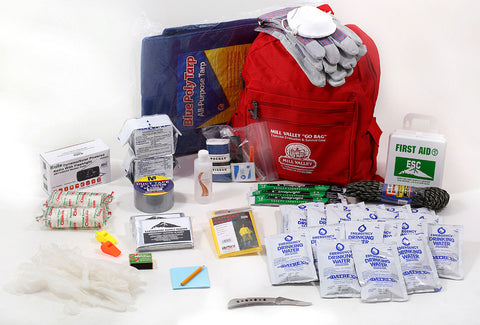 2 person emergency survival kit for disaster preparedness
