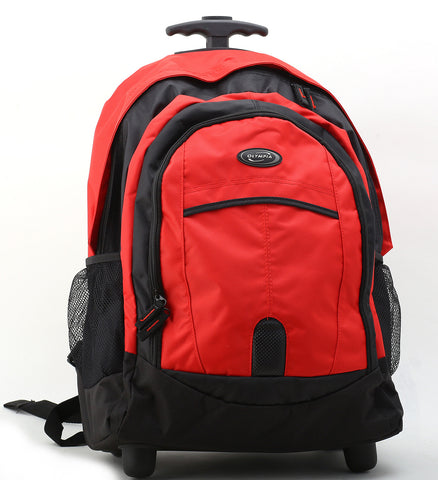 Backpack with wheels for heavier loads