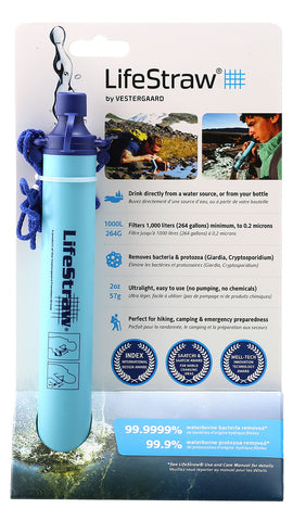 Water Filter, LifeStraw   #241-LS