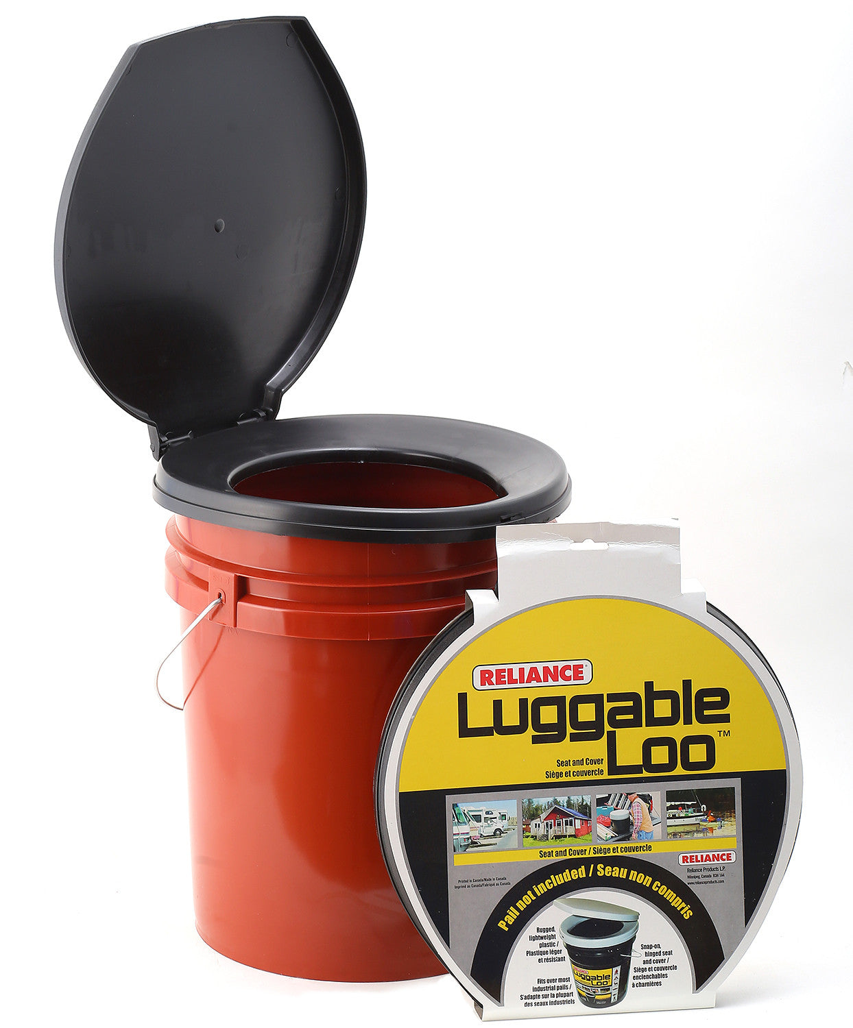 Reliance Luggable Loo Seat Cover