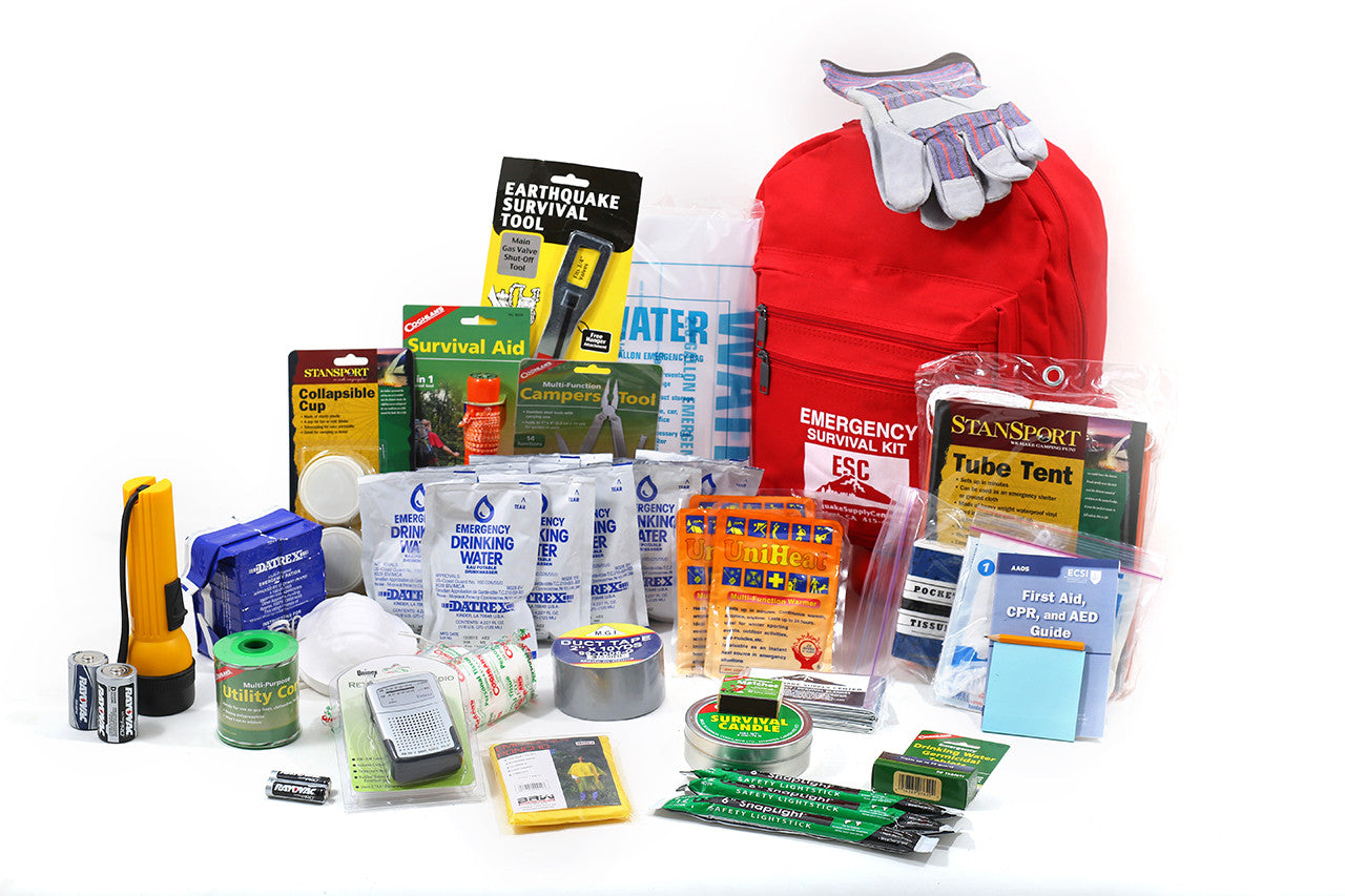One Person Standard Safety Survival Kit