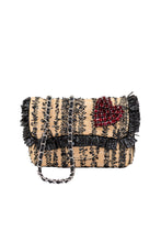 Load image into Gallery viewer, Small Fringe Woven Crossbody