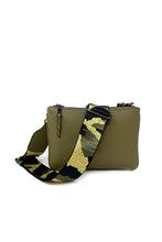 Load image into Gallery viewer, Crossbody Bag with Camo Strap (Pre-Order)