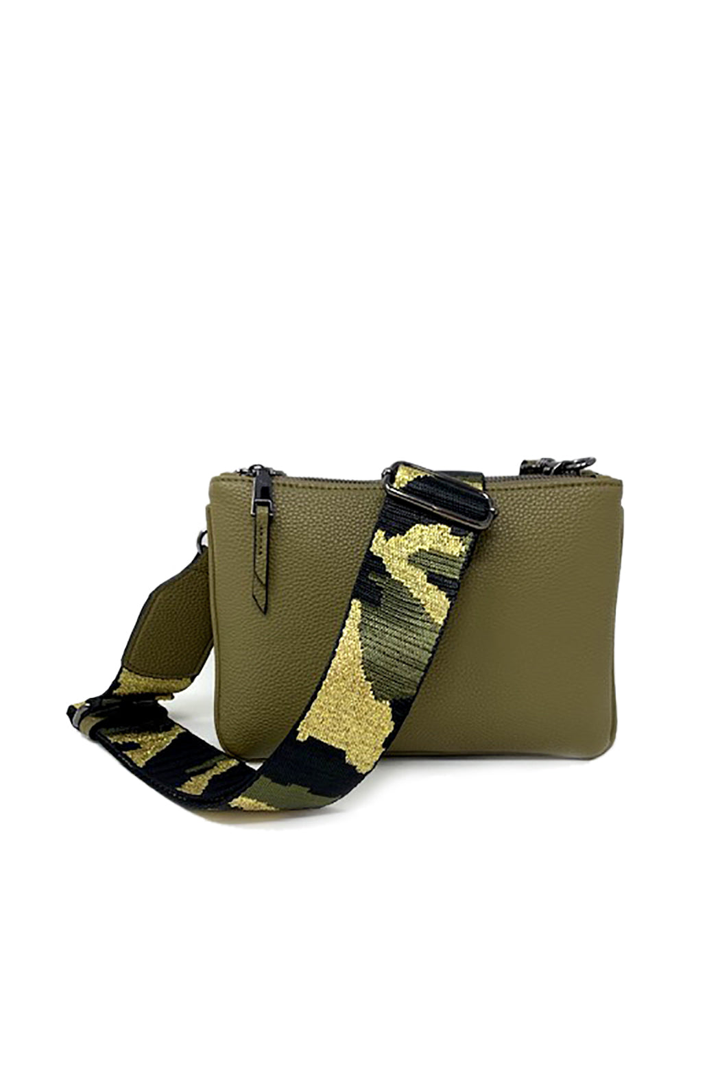 Crossbody Bag with Camo Strap (Pre-Order)