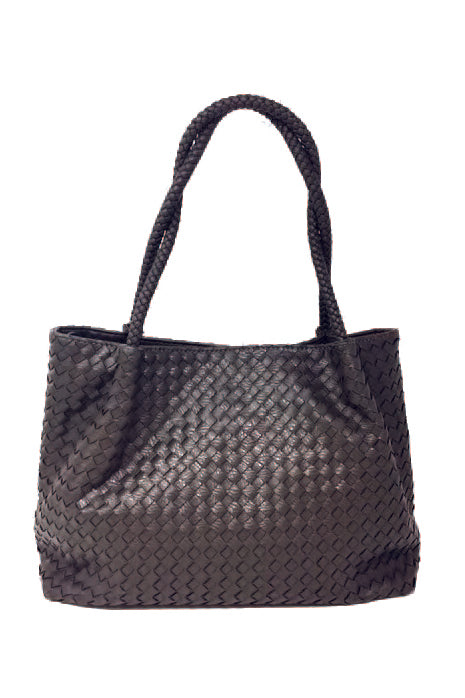 Woven Shoulder Bag (Pre-order)