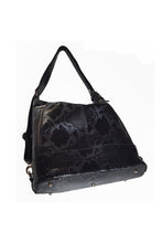 Load image into Gallery viewer, Python Leather convertible Backpack-Tote