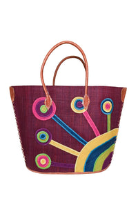 Flower Beach Tote