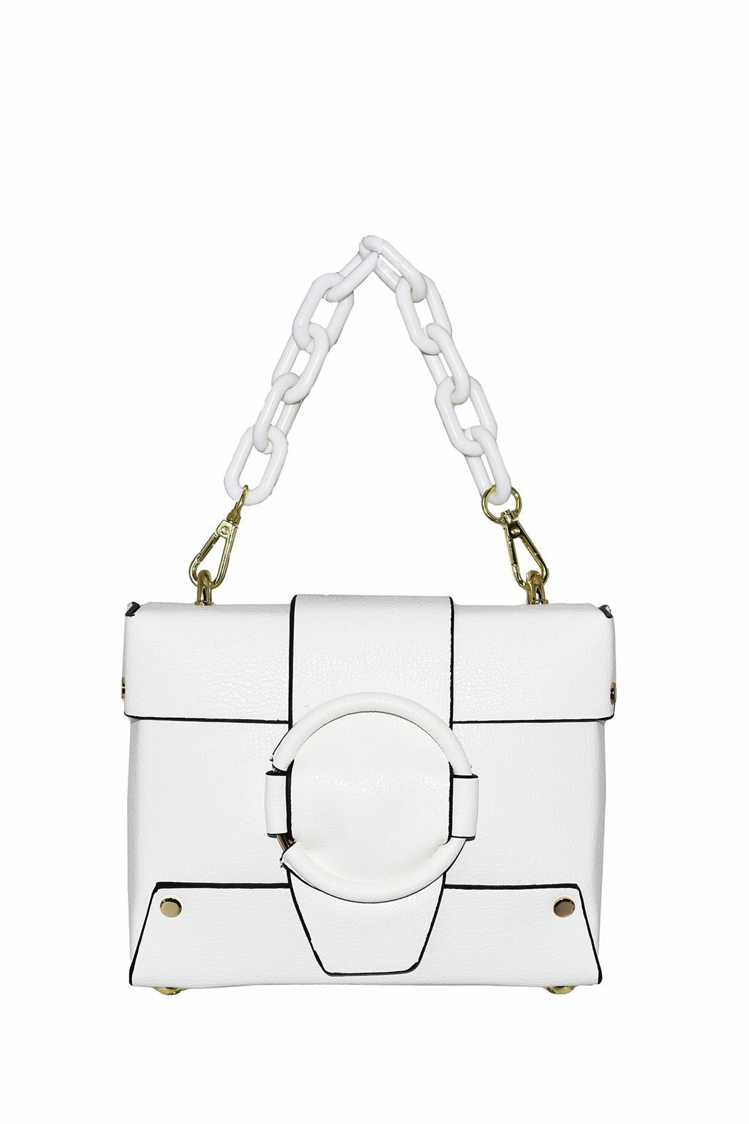 Small Structured Crossbody