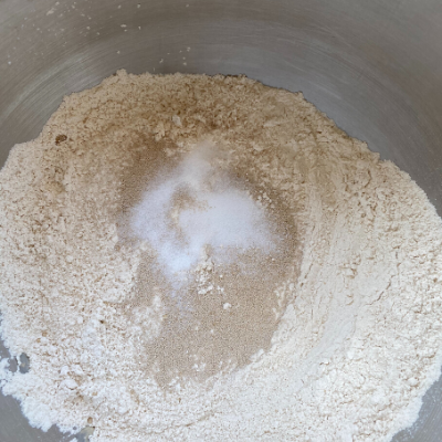 Dry Ingredients for Dough