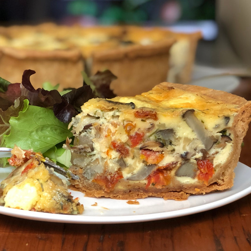100km Foods Quiche Recipe