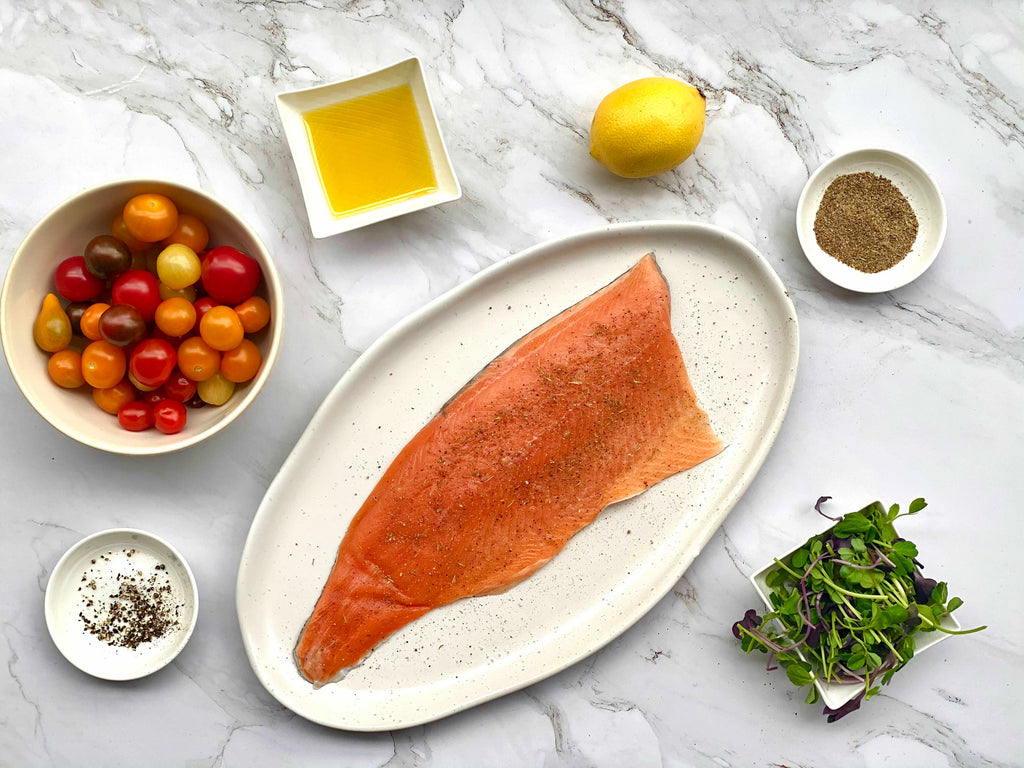 Rainbow Trout With Roasted Tomatoes Ingredients