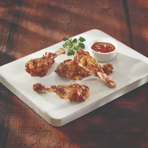 Duck, Fully-Cooked Wings (12ct pack - Frozen)
