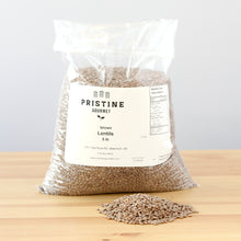 Load image into Gallery viewer, Brown Lentils. Pristine Gourmet