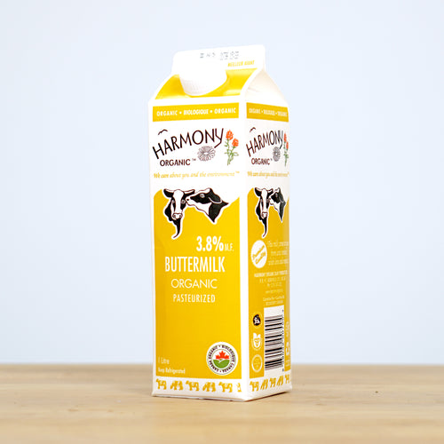 Organic Buttermilk 1L Carton
