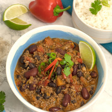 Load image into Gallery viewer, Beef and Bean Chili (Real Foods)