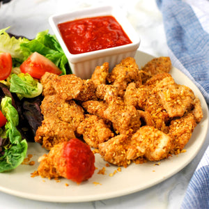 Chickpea Crusted Chicken Meteorites 750g - Frozen