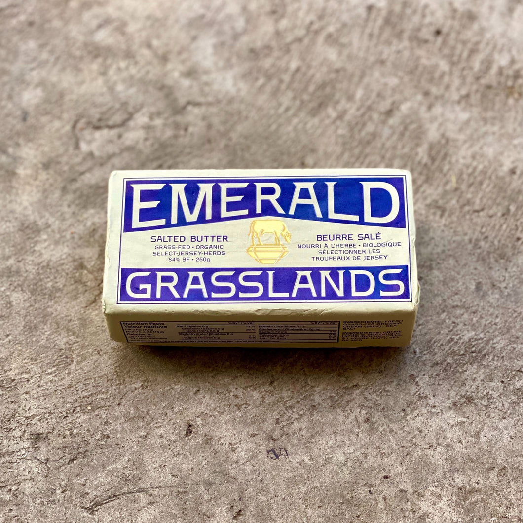 Grass-Fed Butter, Emerald Grasslands