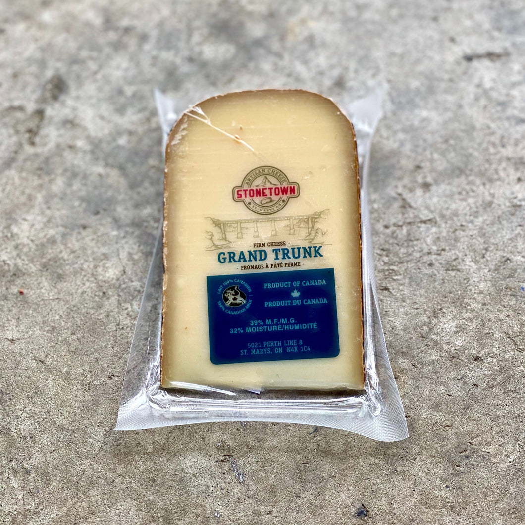 Grand Trunk Gruyere Style Cheese (Stonetown Cheese)