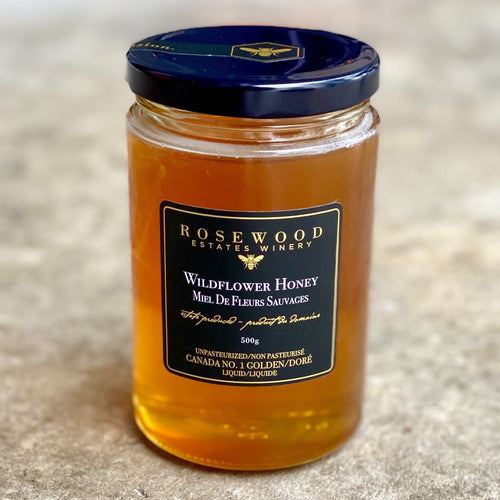 Honey, Rosewood (500g)