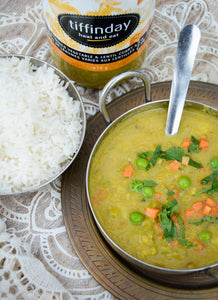 Mixed Vegetable Curry With Lentils Stew (675g Jar - Vegan)