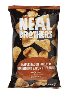Maple Bacon Forever, Kettle Cooked Potato Chips (142g)