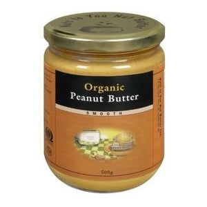 Peanut Butter, Smooth (Organic - 500g)
