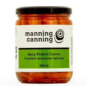 Spicy Pickled Carrots (Manning Canning)
