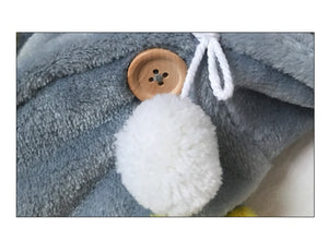 Winter Starlight Plush Cape Pet Clothes