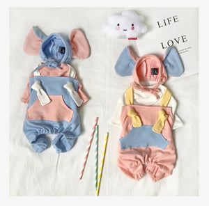 Dumbo Cosplay 3 Piece Set - Includes Hat, Tracksuit and T-shirt