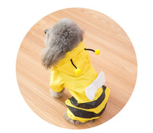 Load image into Gallery viewer, Raincoat Bees Cosplay Cute Pet Clothes