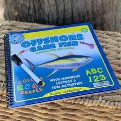 Offshore Game Fish: Interactive Dry-Erase Children's Book