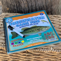 Freshwater Game Fish: Interactive Dry-Erase Children's Book