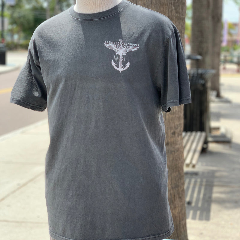Unisex Winged Anchor