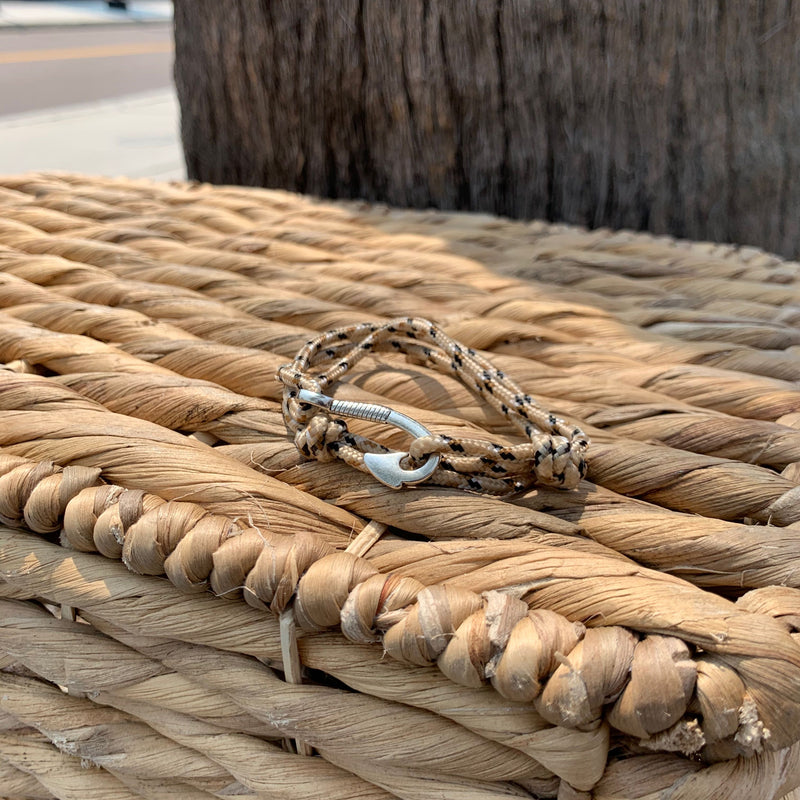 Tan Anchor Wrap Bracelet