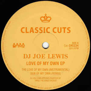 DJ Joe Lewis ‎– Love Of My Own EP